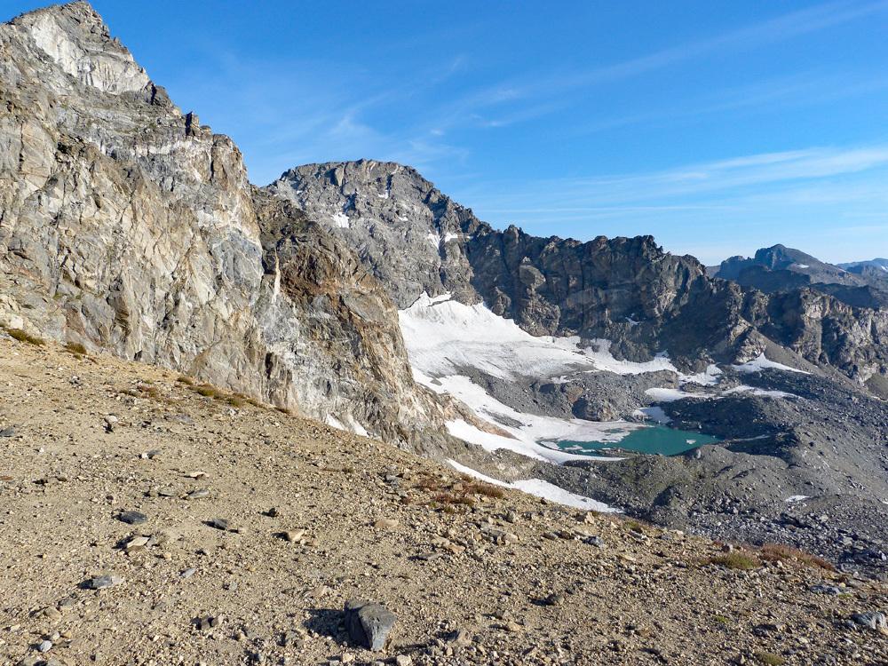 Arapaho Peaks from Old Baldy Mack
