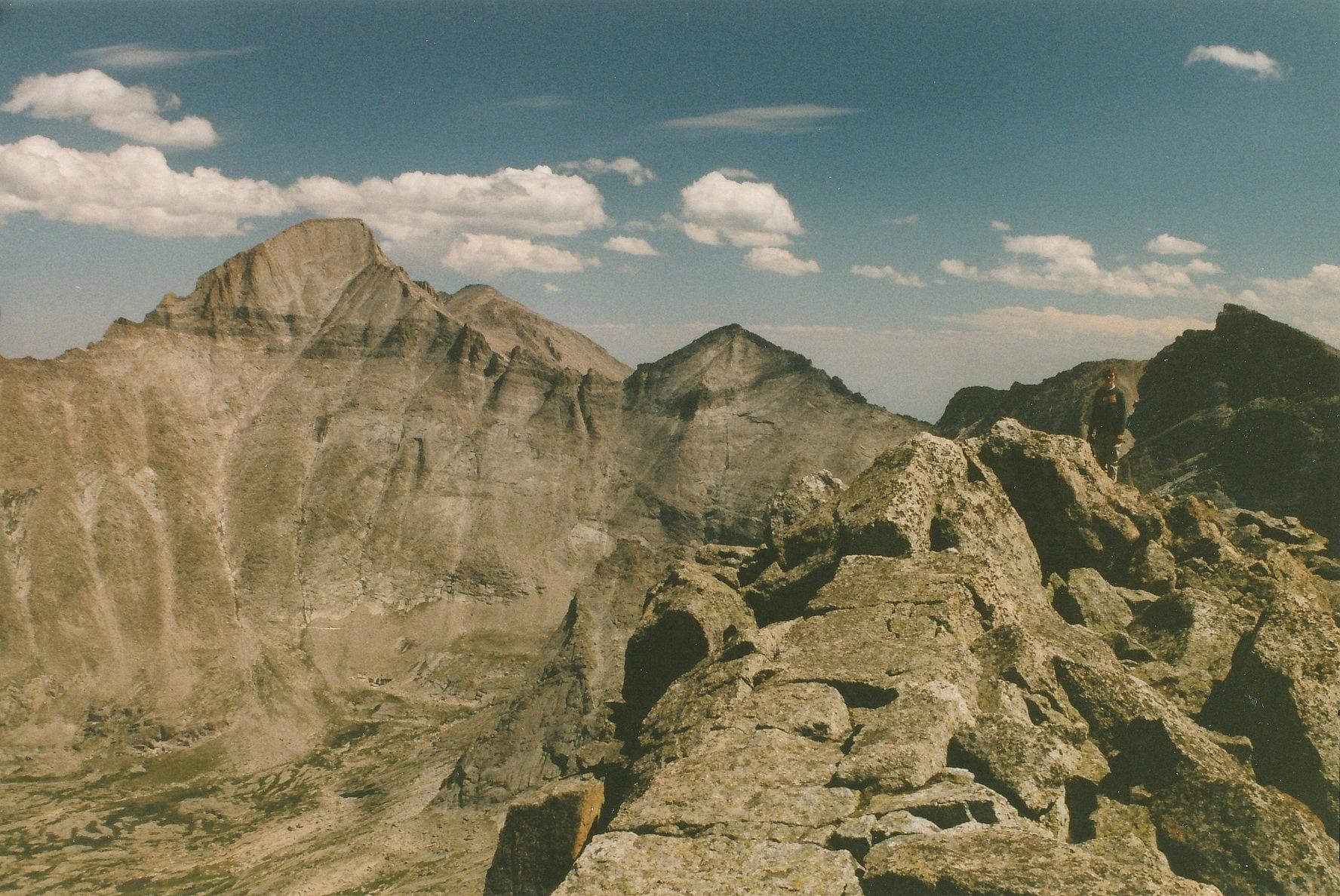 Longs Peak from Chiefs Head Ridge