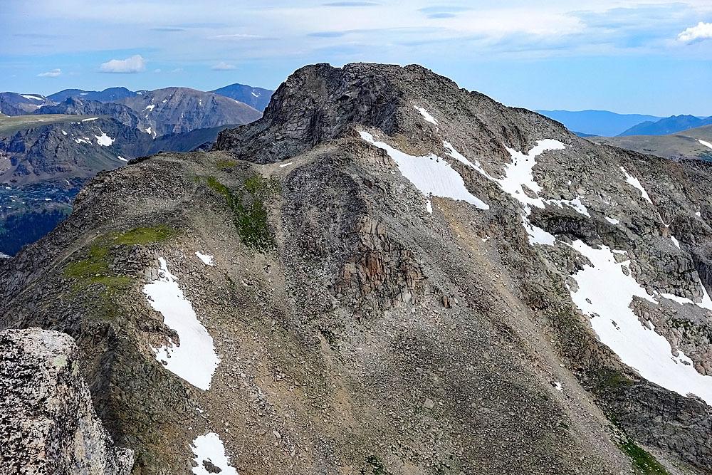 Paiute Peak from Mt Toll