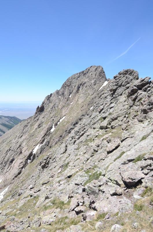 Pico Aislado Ridge Traverse Mack
