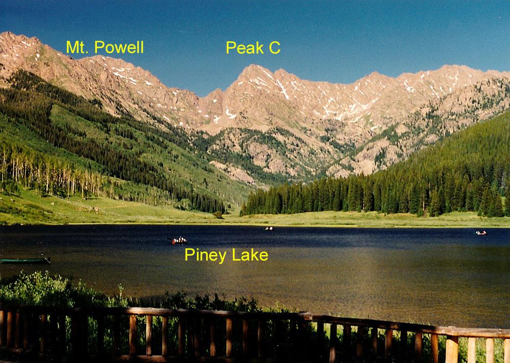 Piney Lake Gore View