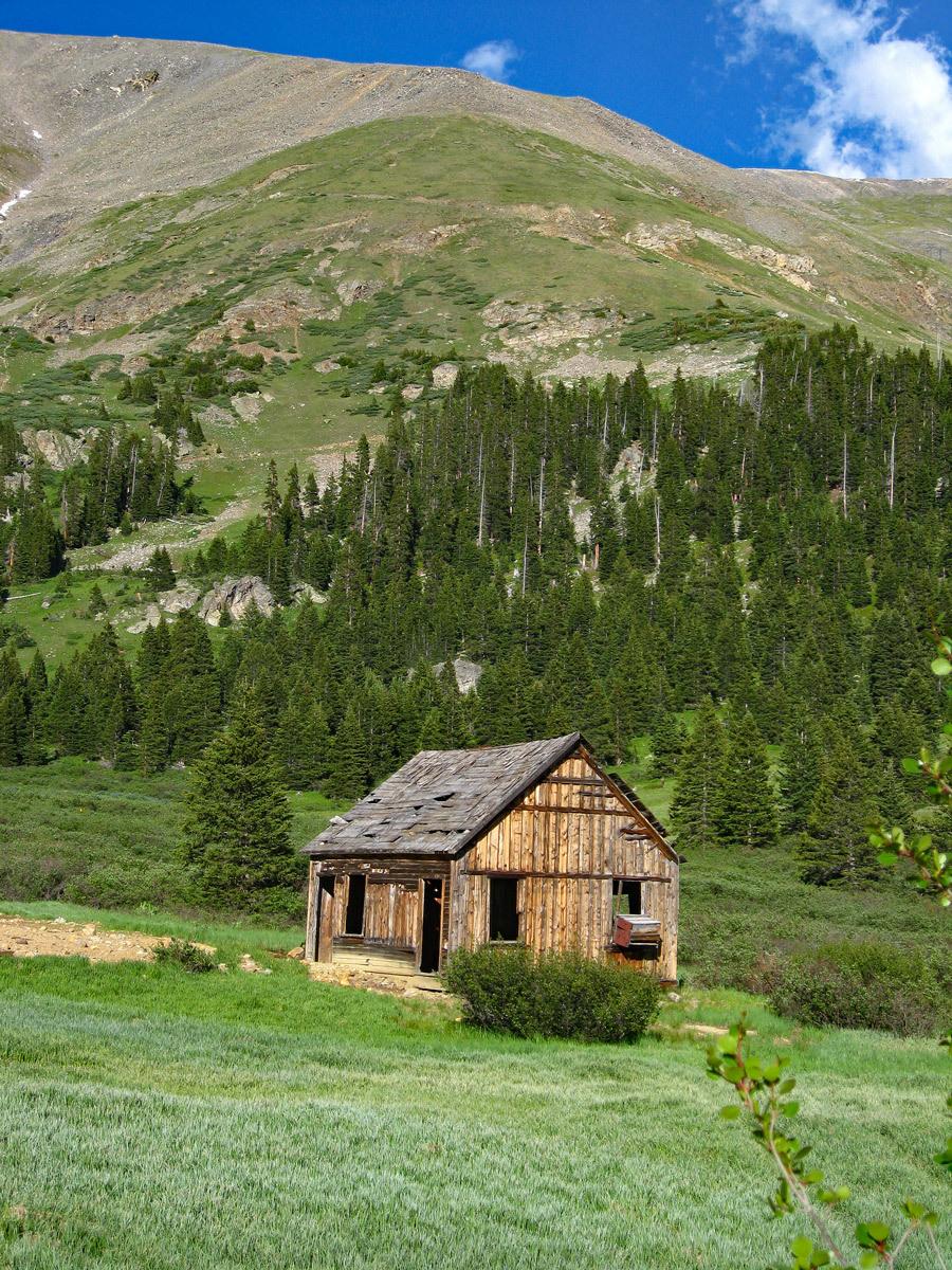 Ruby Mtn Shoe Basin Mine Cabin
