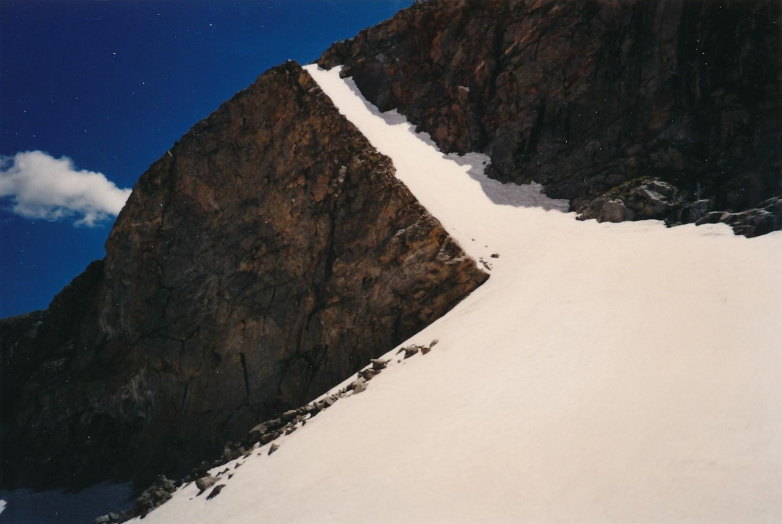 Tijeras Ascent Couloir