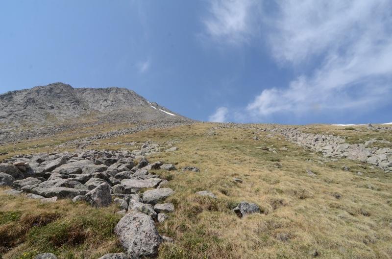 Tijeras Summit approach Mack