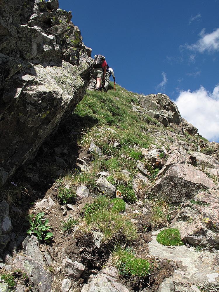 UN 13020 B Steep ascent