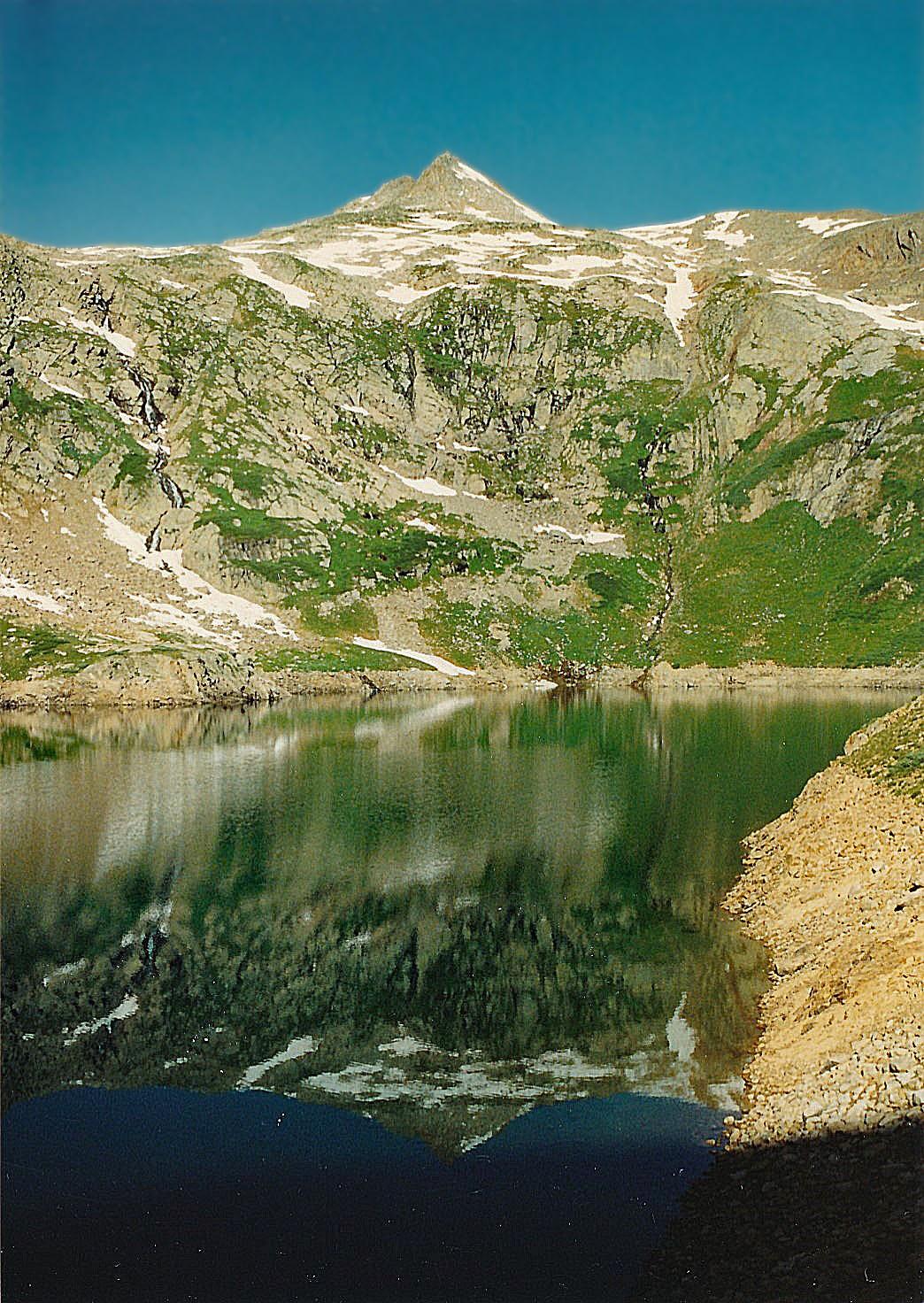 Lake Hope & San Miguel Peak